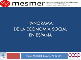Panorama de la Economía Social en España