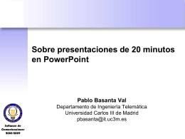 PPTs_con_10_20_30 - Departamento de Ingeniería Telemática