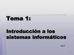 Tema 1: Fundamentos de la programación
