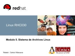 Sistemas de Archivos Linux