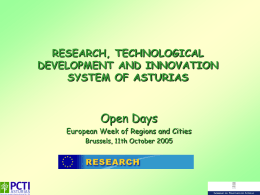 Research and Technology Centers in Asturias
