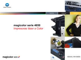 magicolor 4650 - Konica Minolta