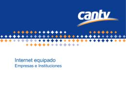 Presentación Internet Equipado 10Abr2007