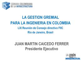 CONTRATACIÓN DE CONSULTORÍA EN COLOMBIA
