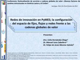 Presentación de PowerPoint - Comisión Económica para América