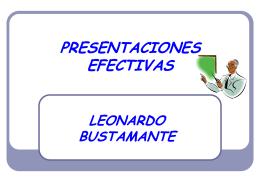 Como realizar presentaciones efectivas