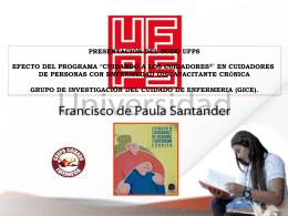 POSTER UFPS PROGRAMA CUIDANDO A LOS CUIDADORES