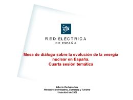 Ponencia Sr. Carbajo - Ministerio de Industria, Energía y Turismo