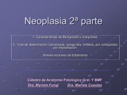 Neoplasia 2 parte 2009