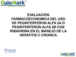 evaluación farmacoeconomica del uso de peginterferon