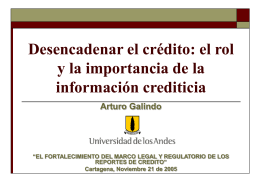 Regulación y Supervisión Financiera