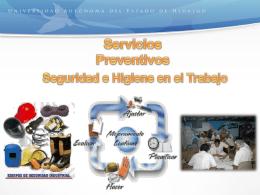 6. Seguridad e higiene en el trabajo