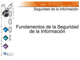Manual del Instructor en Seguridad de la Información