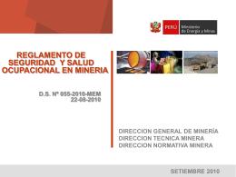 DESCARGAR EXPOSICION  - Ministerio de Energía y Minas