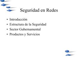 Presentación Seguridad Información