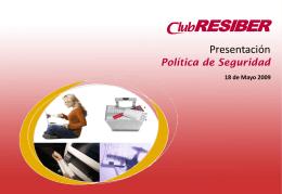 RESIBER Seguridad - Iberia Web Sistemas