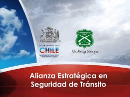 Alianza Estratégica en Seguridad de Tránsito
