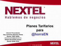 Planes empresariales especiales para @horraEn