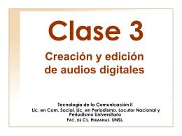 clase 3 - Página de Tecnología de la Comunicación