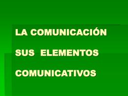 LA COMUNICACIÓN (172544)