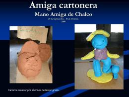 Mano Amiga de Chalco Amiga cartonera 29 de Septiembre – 01 de