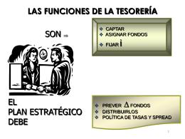 LAS FUNCIONES DE LA TESORERÍA
