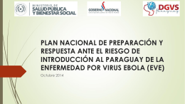 plan nacional ebola par