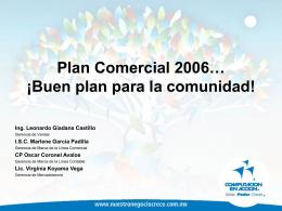 Plan Comercial 2006
