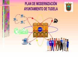 Ayuntamiento de Tudela PLAN DE MODERNIZACIÓN