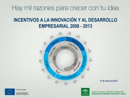 PRESENTACIÓN nueva ORDEN INCETIVOS 2012 DEF_v3
