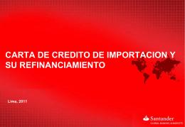carta - Santander