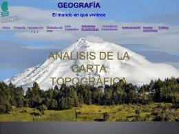 CARTA TOPOGRAFICA - Colegio de Bachilleres