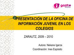 presentación - Gipuzkoangazte.info