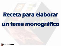MonografiaReceta