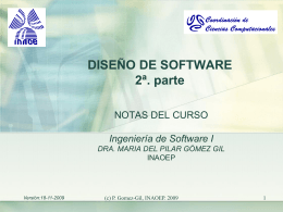 Diseño de Software 2a. Parte