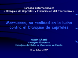2a parte: Retos en la lucha contra blanqueo de capitales