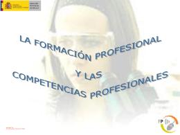 La FP en España y las competencias profesionales