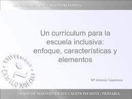 grado de maestro en educación infantil / primaria
