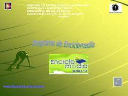 ¿Qué es Enciclomedia? - Secretaría de Educación Pública Baja