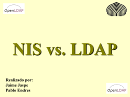 NIS vs. LDAP