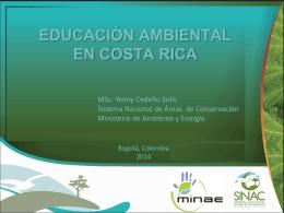 educación ambiental en costa rica
