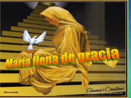Por las sendas del Redentor Guíanos santa Madre de Dios