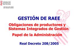 RAEE - Conselleria de Territorio y Vivienda