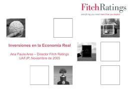 """""""Inversiones en la Economía Real"""" - A.Ares - noviembre"""