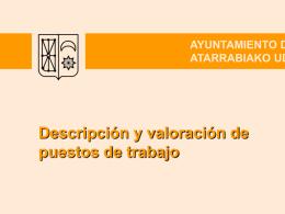 AYUNTAMIENTO DE VILLAVA ATARRABIAKO UDALA