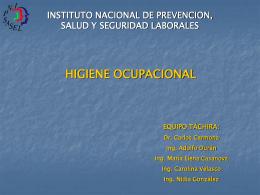 Módulo II: Higiene Ocupacional