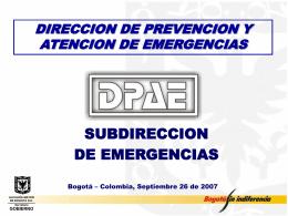 atencion de emergencia