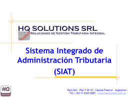 SIAT - HQ Solutions