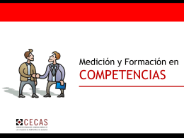 """Descargar """"Presentación Plan Formativo por Competencias. CECAS."""""""