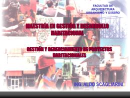 01_gesti - Bienvenidos a la Facultad de Arquitectura, Urbanismo